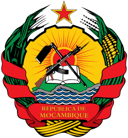 Emblem of Mozambique Image Source:  Wikimedia Commons/ Jam123