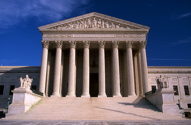 The U.S. Supreme Court. Image Source: Flickr/kubina