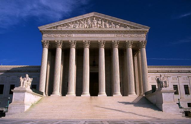 The U.S. Supreme Court. Image Source: Flickr/kubina