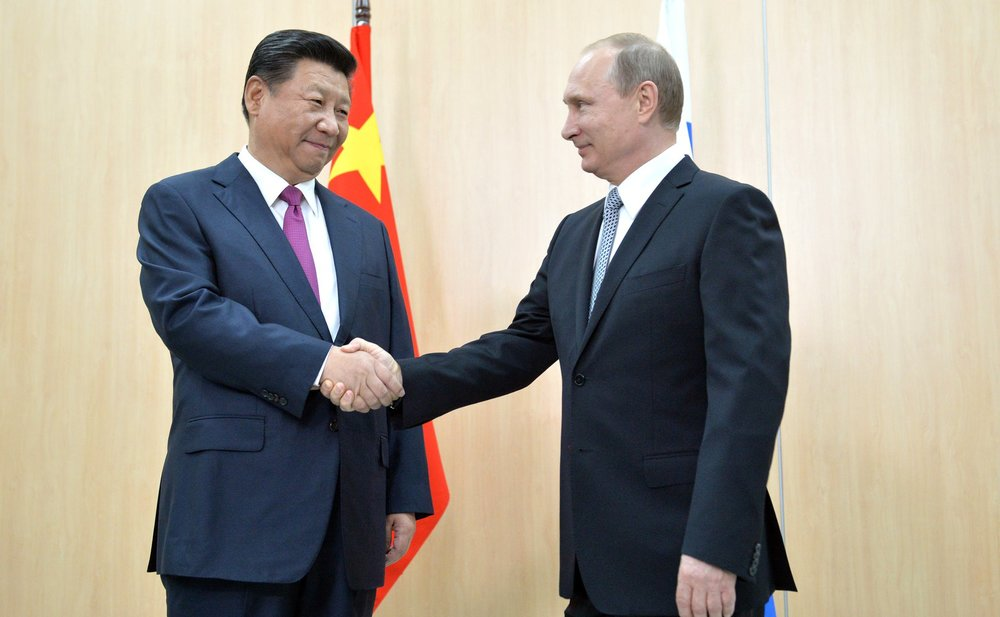 Vladimir Putin and Xi Jinping, BRICS summit 2015. Image Source: Wikimedia Commons/ Пресс-служба Президента России