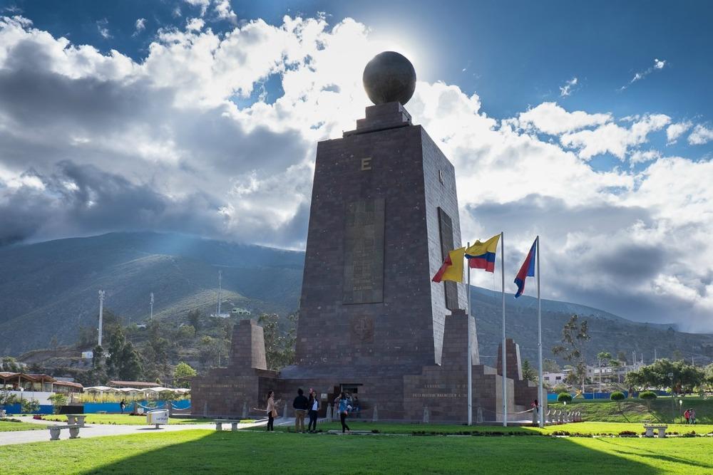 The Ciudad Mitad del Mundo in Ecuador. Credit: flickr/lorenzoclick