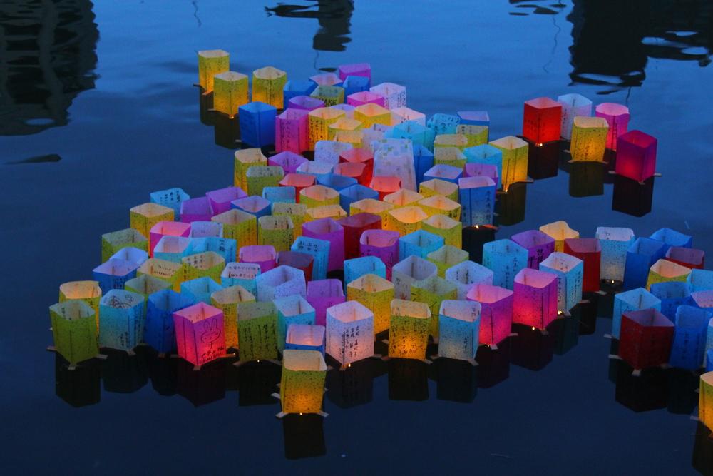 Hiroshima Lantern Festival (flickr/rileyroxx)