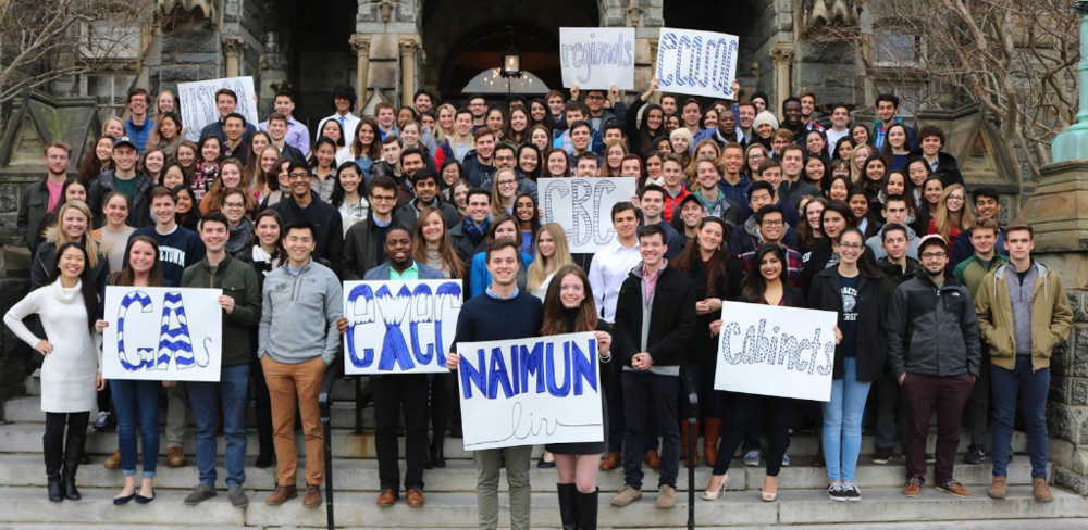 Georgetown University Model UN Conference Organizers