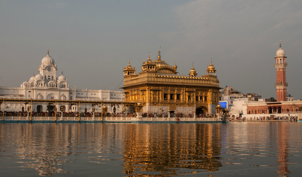India's famous Golden Temple. flickr/sandeepachetan