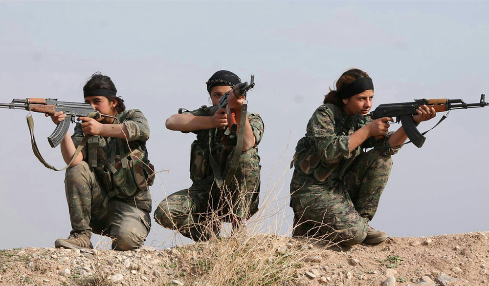 """ Kurdish YPG Fighters "" ( CC BY 2.0 ) by  Kurdishstruggle"