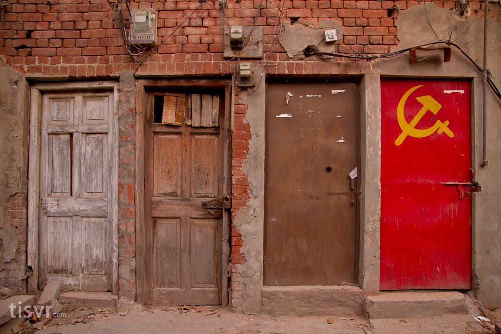 """ Communism got colours "" ( CC BY-NC 2.0 ) by  UJMi"