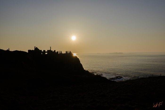Sunset Dunluce