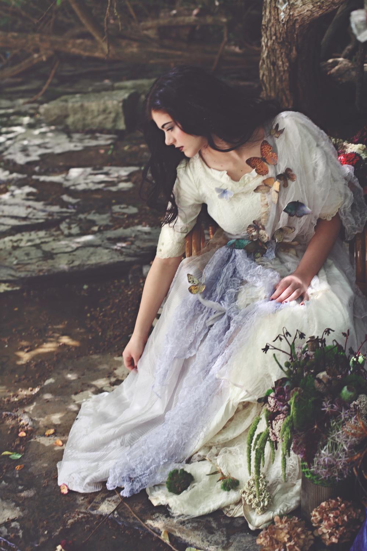 Paper Butterfly Dress