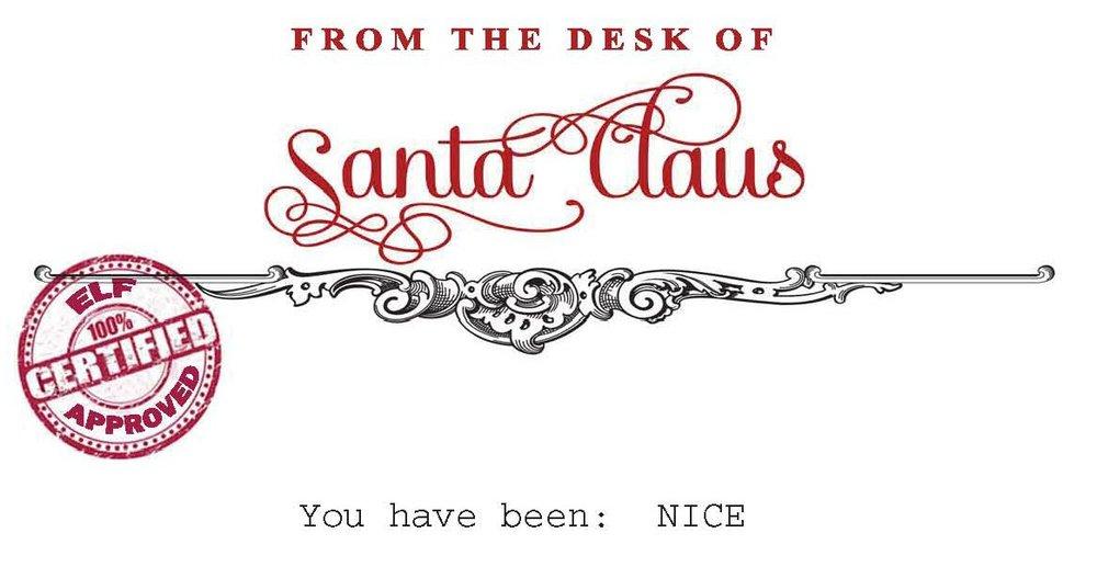 letters from santa strangersweknow - From Santa