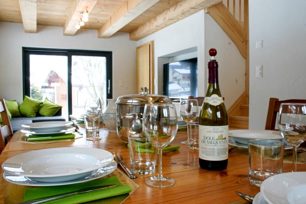 Cuisine, salle à manger et séjour open space