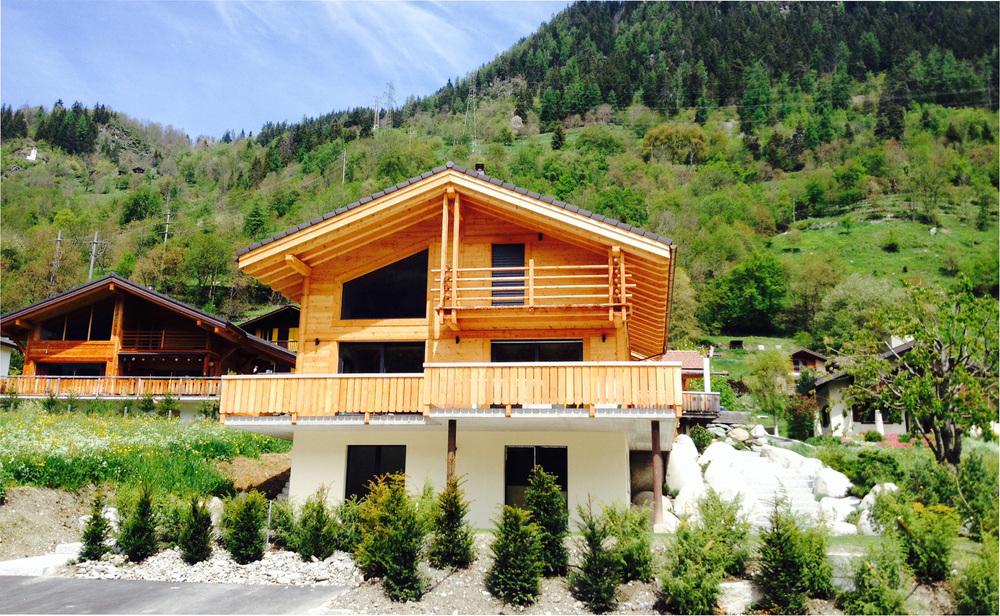 Chalet suisse inauguré en 2015