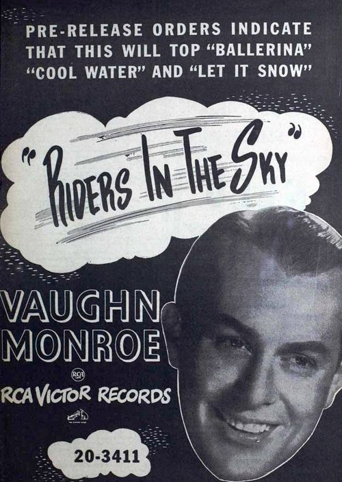 Image result for ghost riders in the sky vaughn monroe 1949