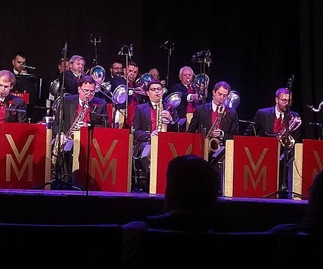 The Vaughn Monroe Orchestra in action!  #vaughnmonroe #bigband
