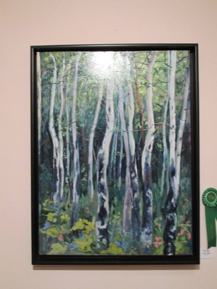 One of my award winning paintings...30x40