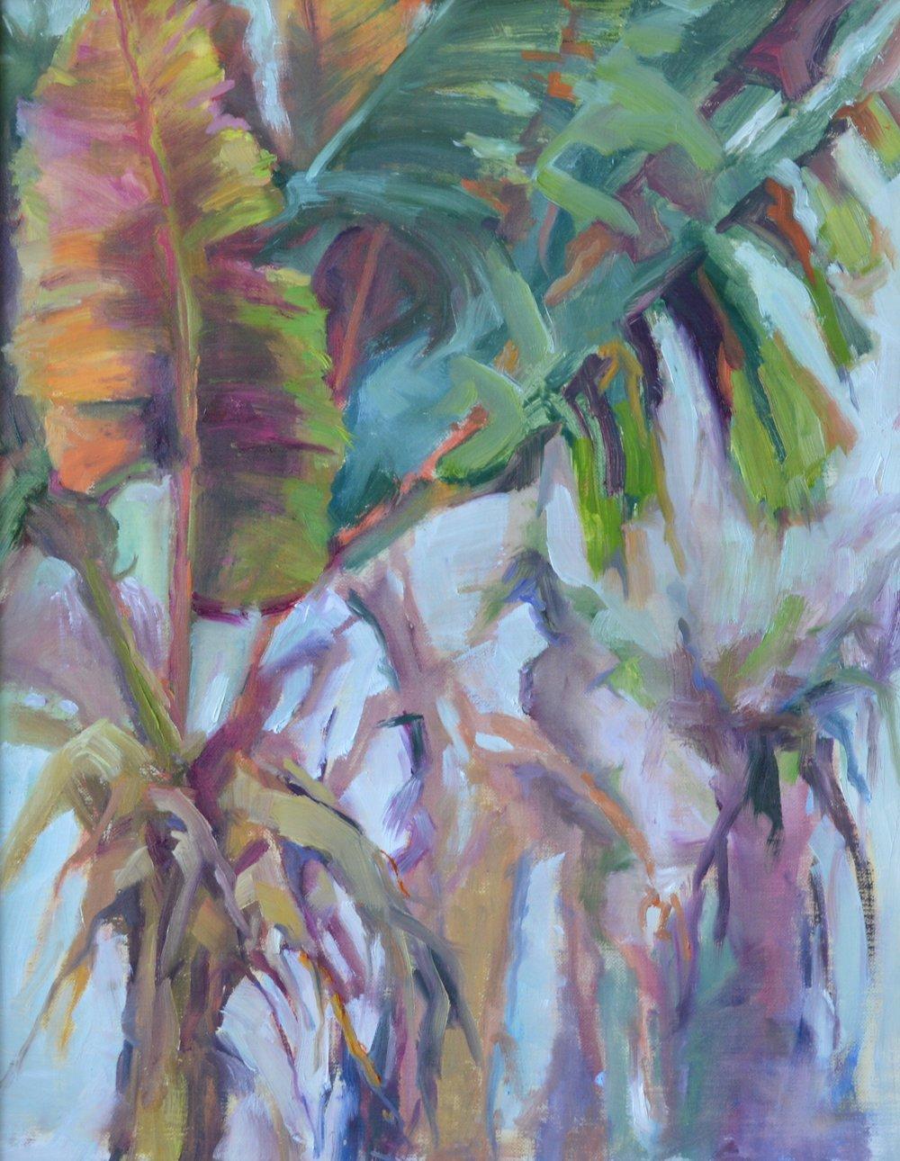Banana Plant - 11X14