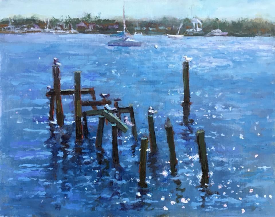 Manatee Lagoon, 11x14, oil on panel Sold