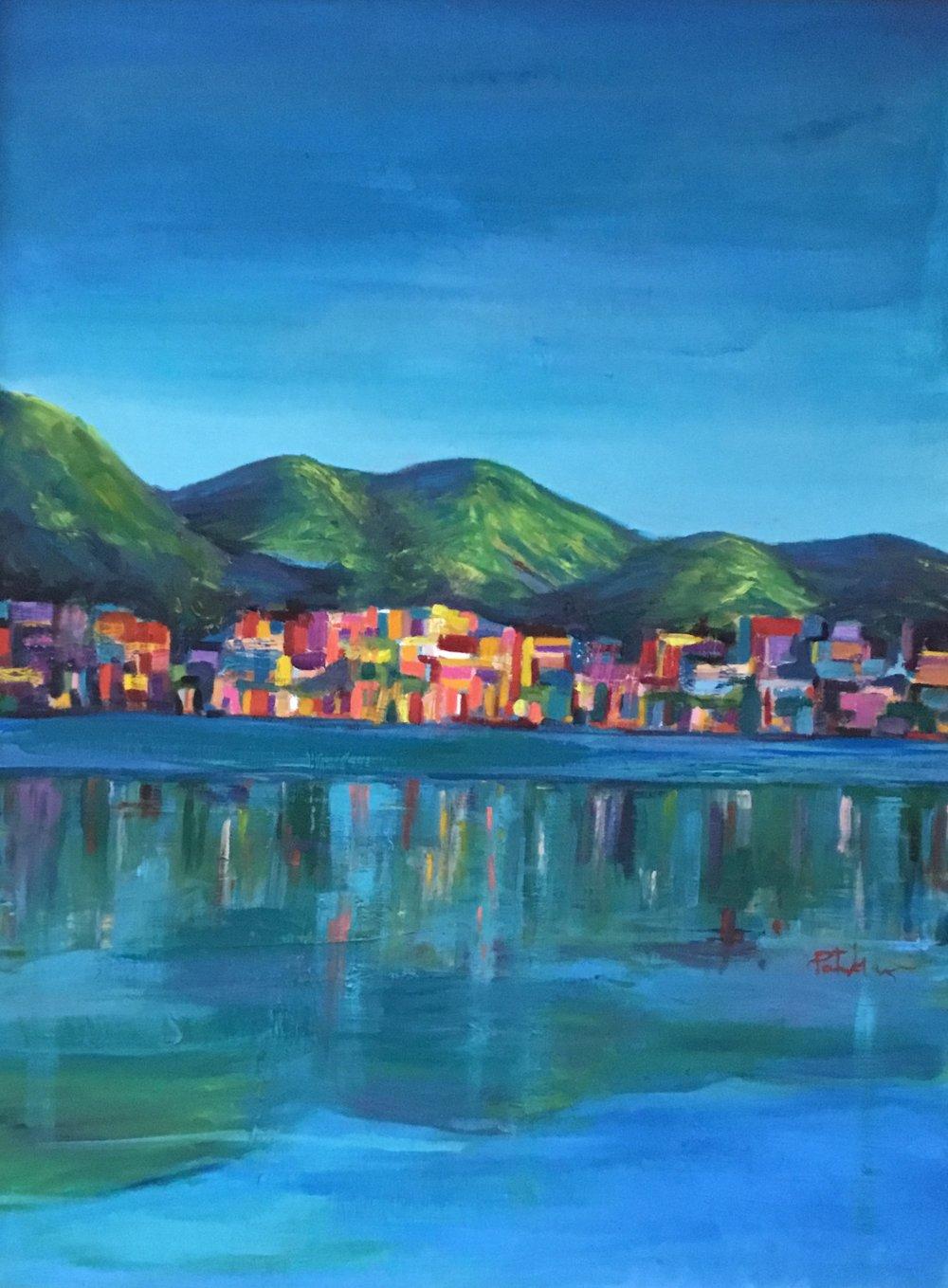 Favela, oil on canvas, 42x54