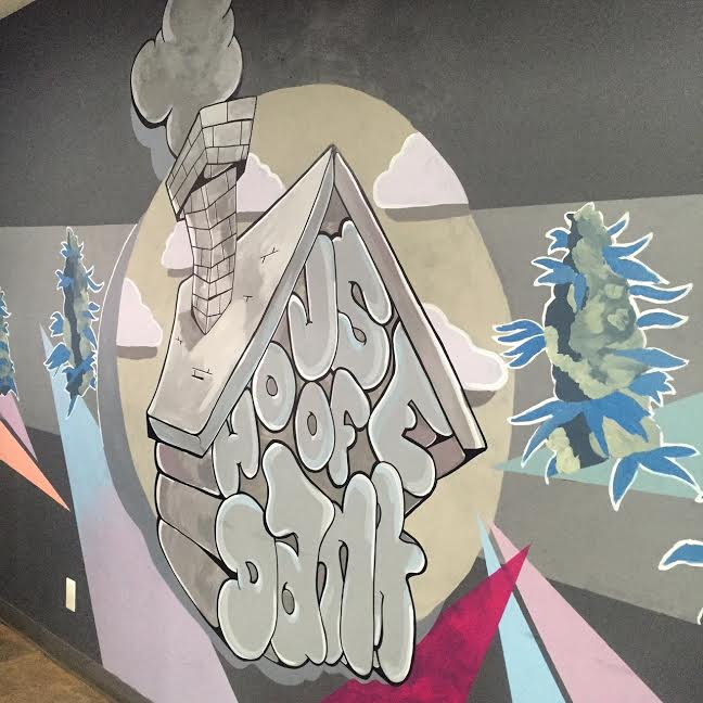 LOBBY MURAL FOR HOUSE OF DANK (2016)