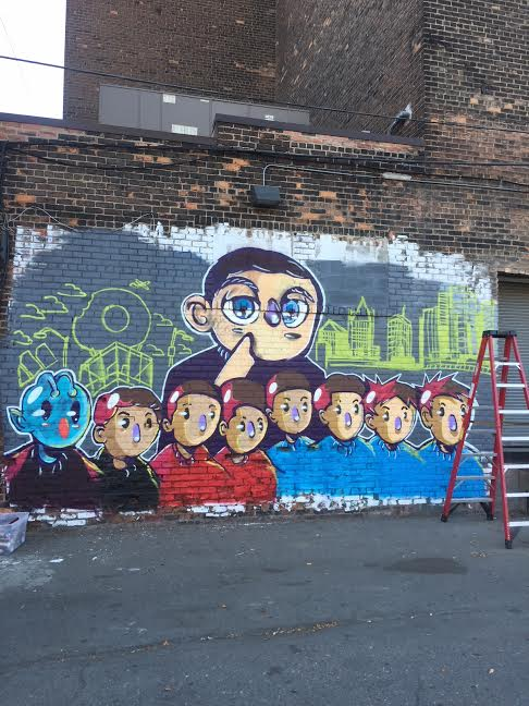 UNTITLED MURAL FOR MAJESTIC THEATER (2017)