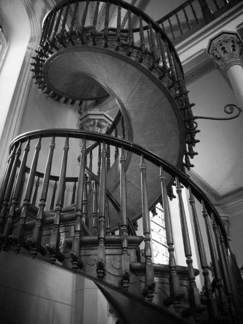 Loretto Chapel Staircase Early 19th Century