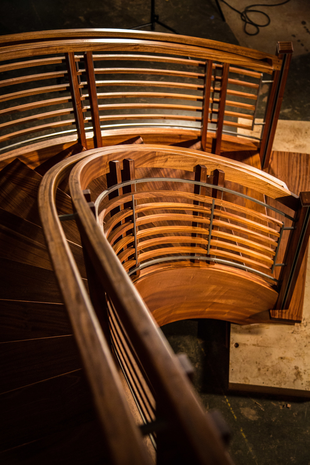 "2014 ""Music"" Grand Curved Staircase"
