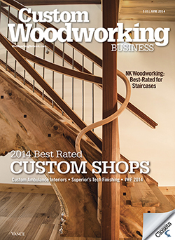 Custom Woodworking Magazine Highlights NK Woodworking