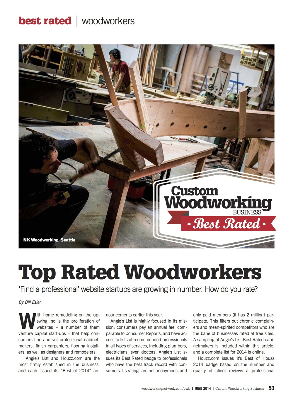 Top Rated Woodworkers