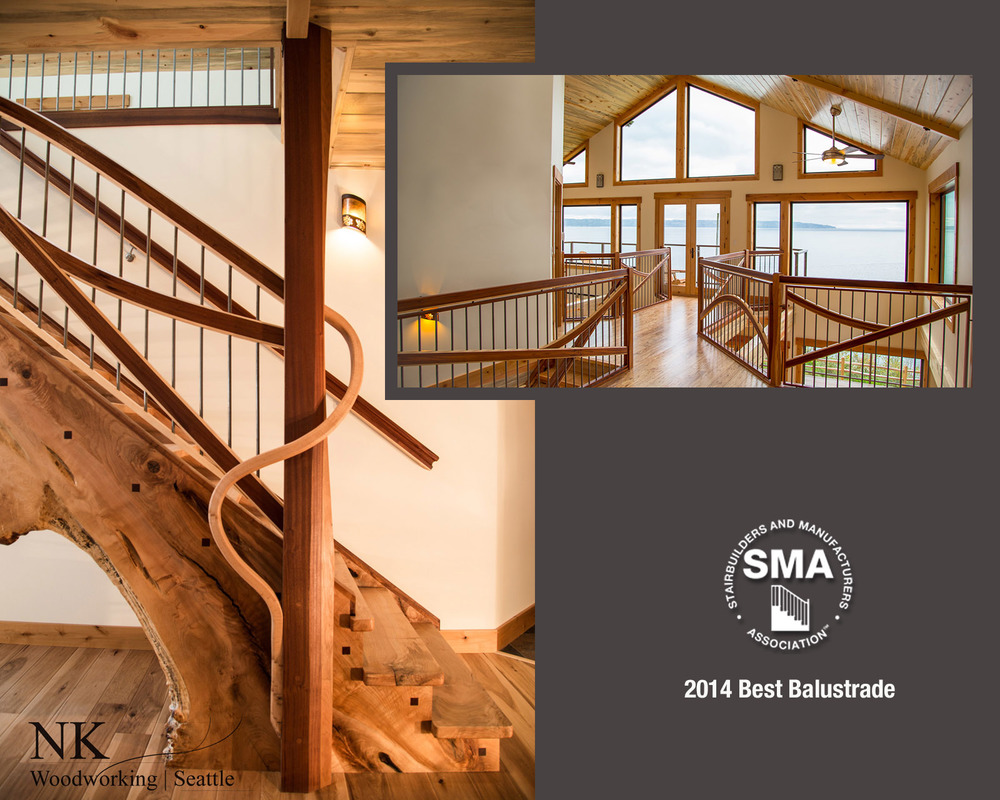 2014 SMA Winner for Best Balustrade