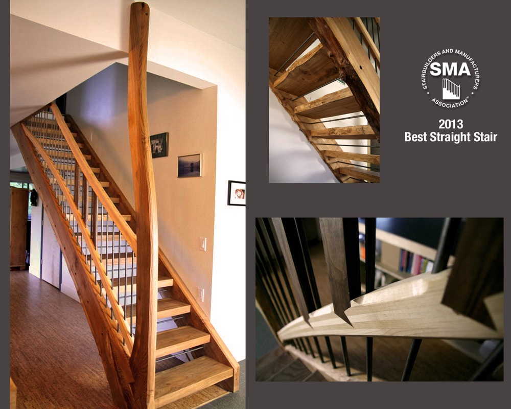 2013 SMA Award Winner for Best Straight Stair