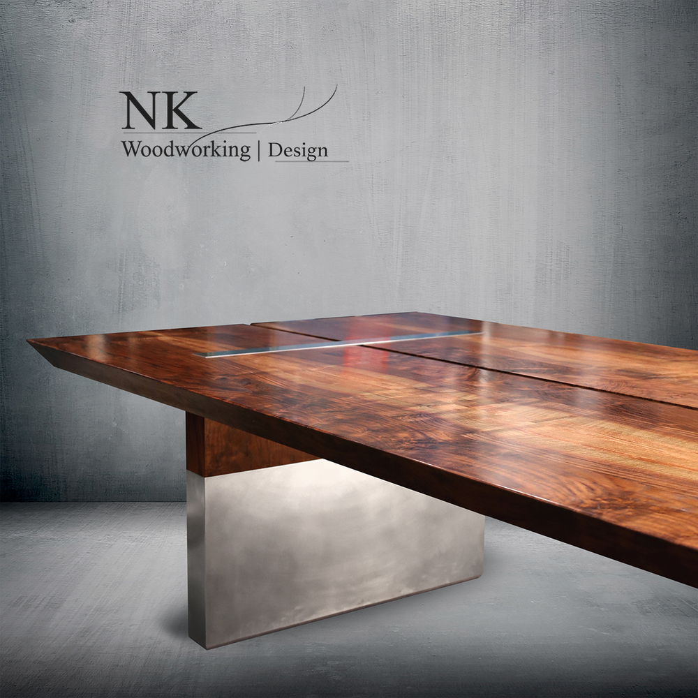 Custom Wood Furniture | Reclaimed | Table Art | Seattle