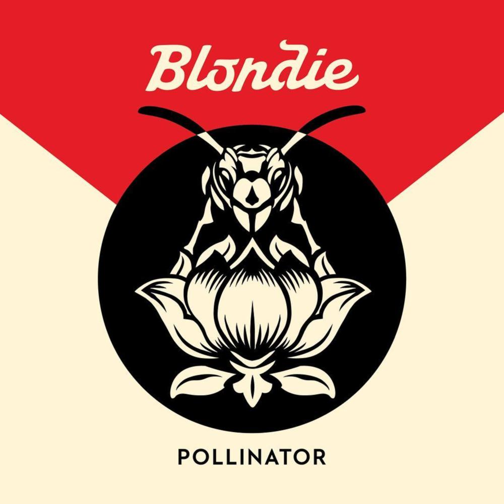 Blondie album Pollinator with artwork by Shepard Fairey