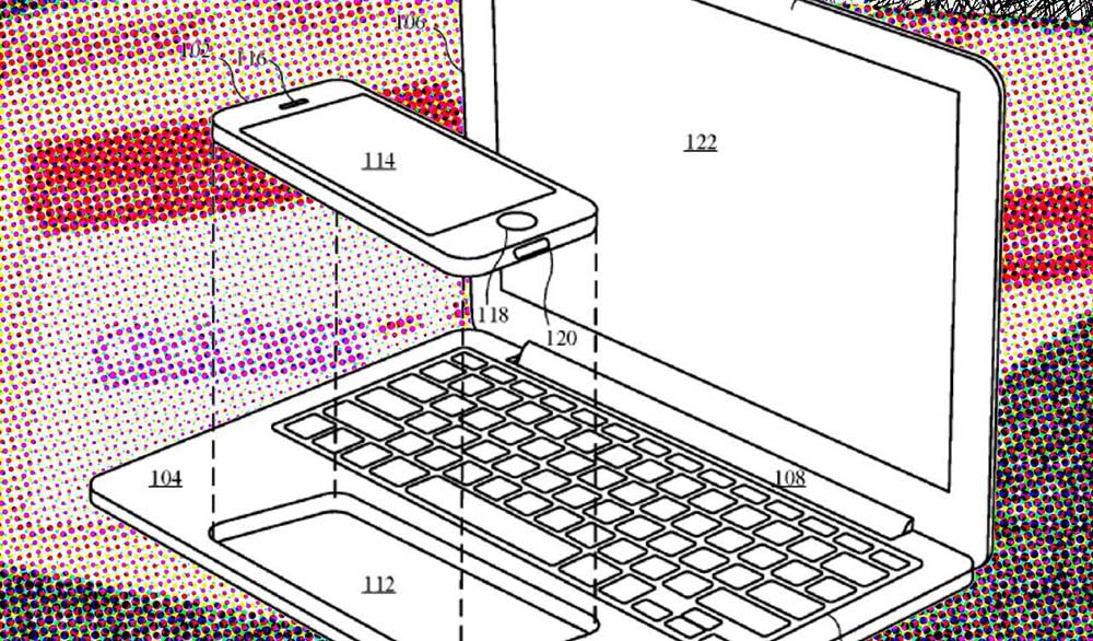 When writing about patents, taking screenshots of patent drawings is OK. Clipping out the space around the images and adding a 4-color halftone process array of colors behind this patent image makes the final product unique - and more visually interesting at all sizes.