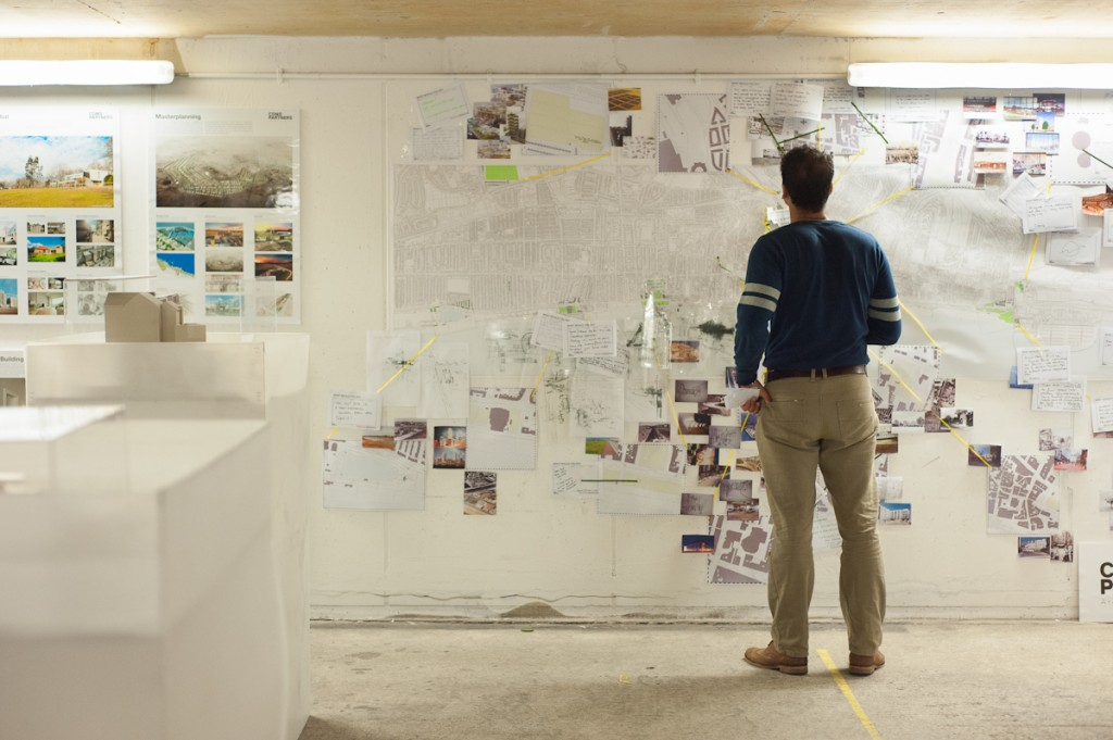 "CDMS Architect's interactive map ""Residual Brighton"" at the Threshold Hub."