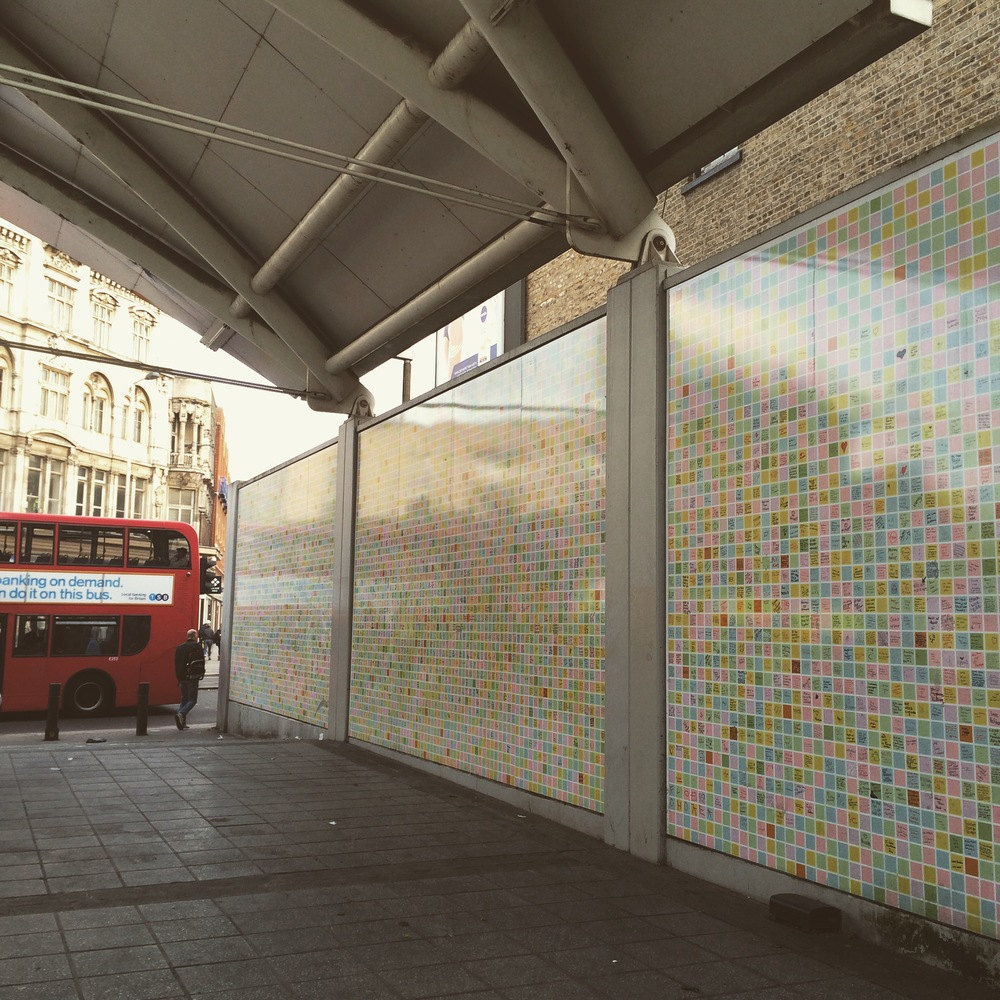 Peckham Peace Wall, Peckham Square, London SE15. Peckham Platform (2012).