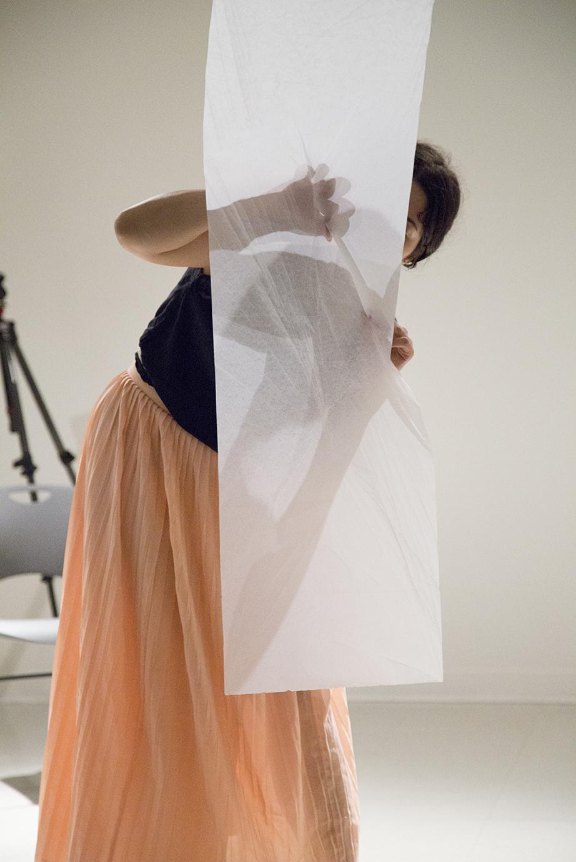 """""""Self Portrait, Folded Screen"""""""