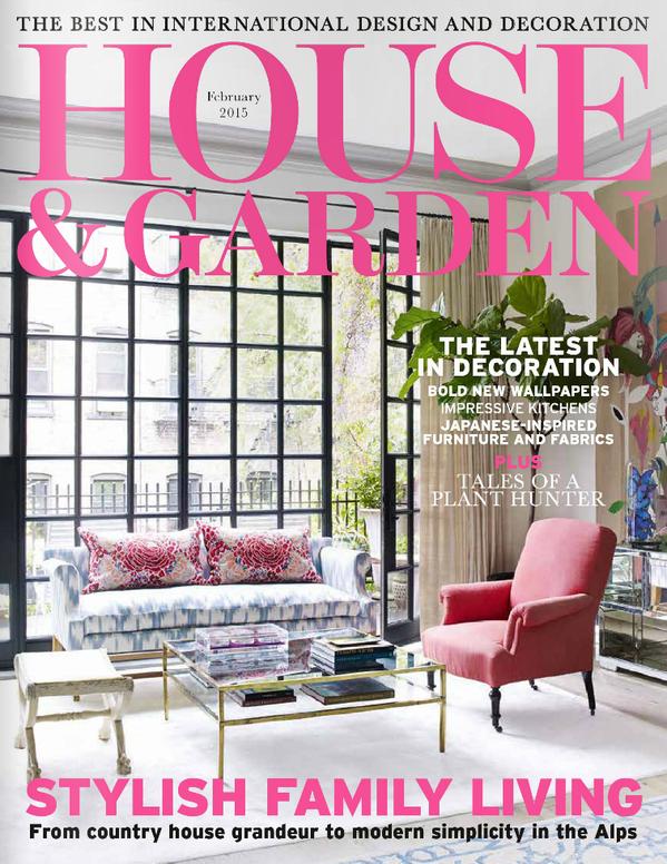house & garden february 2015