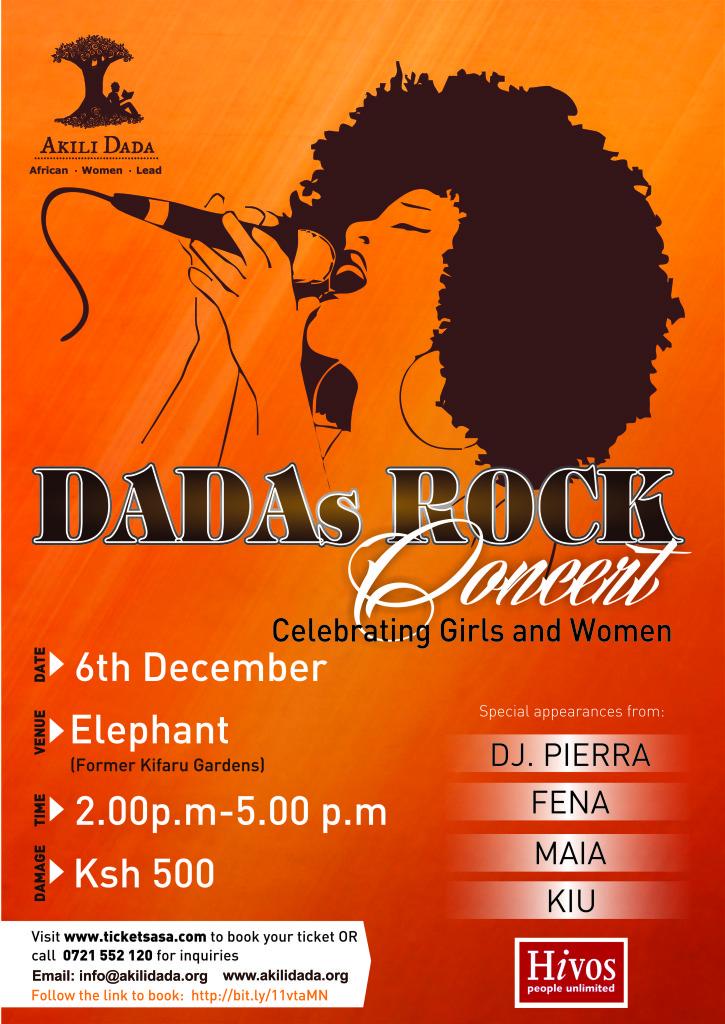 Dadas Rock - Celebrating Girls and Women