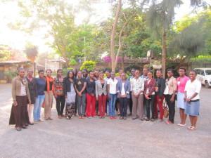 Post workshop group photo