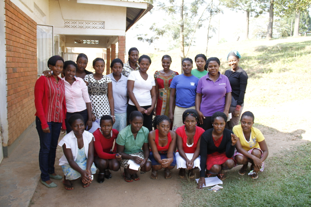 Honest with Girls to Lead Africa Members at a Technical Training College in Uganda