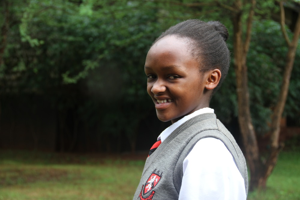 Christine from the Kenya High School is one of the Akili Dada Scholars who have been selected to attend the Yale Young African Scholars Program