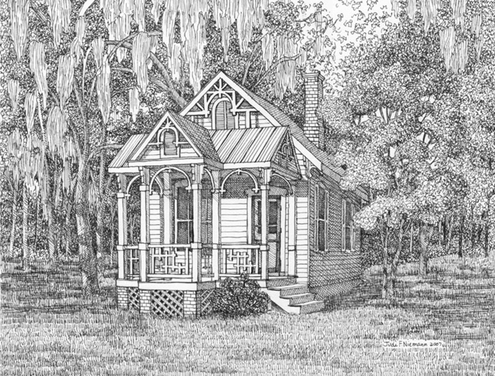 Honeymoon Cottage, Bradley Creek, Wilmington, NC
