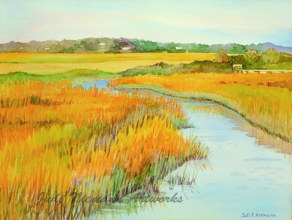Tidal Marsh, Wrightsville Beach, NC
