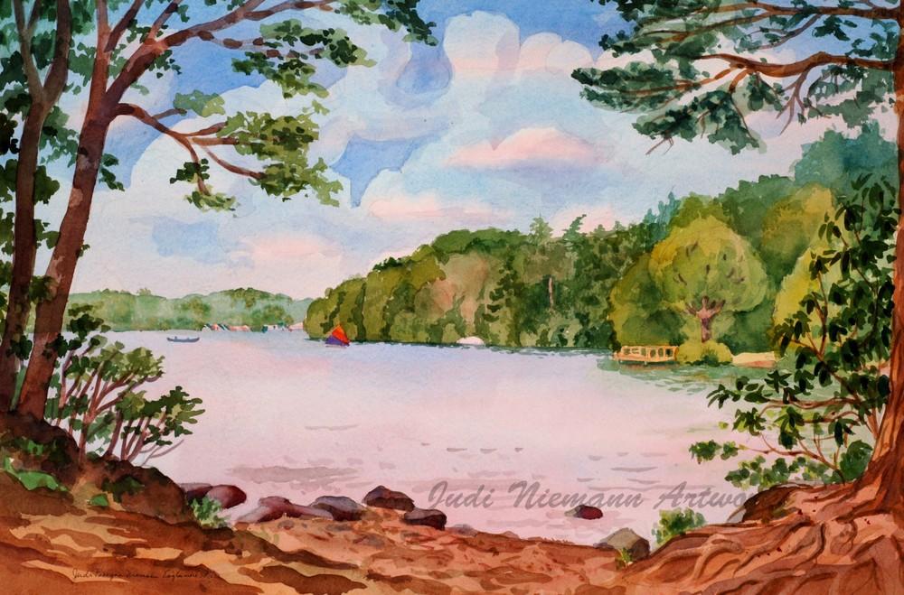 Lake at Eaglesmere, Pennsylvania
