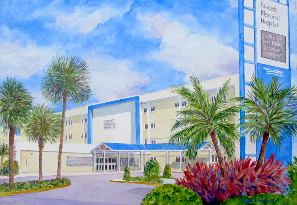 Fawcett Memorial Hospital, Florida