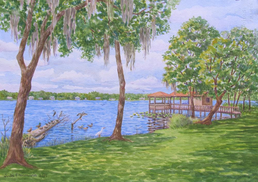 Backyard View, Florida Home