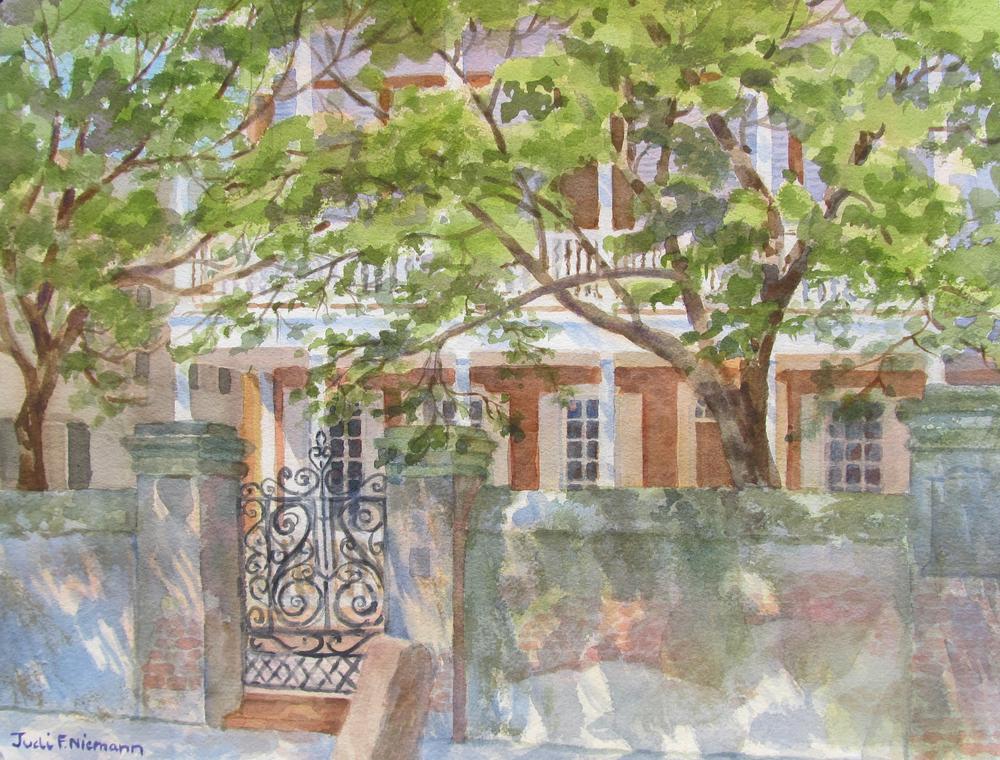 George Eveleigh House circa 1743, Charleston, SC