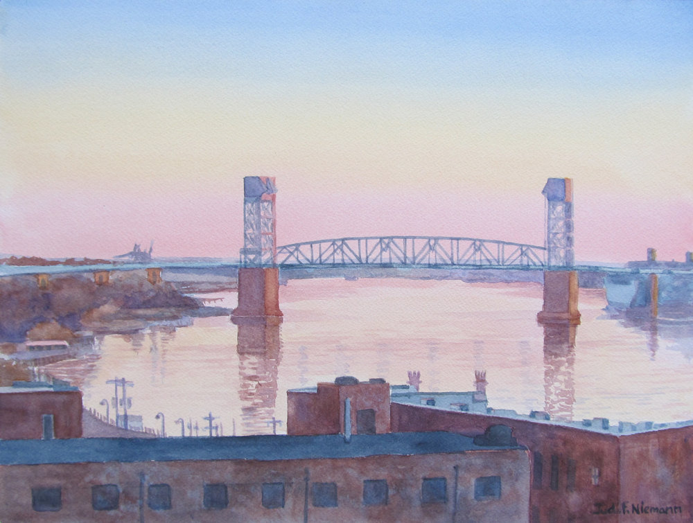 Cape Fear River, Rooftop View