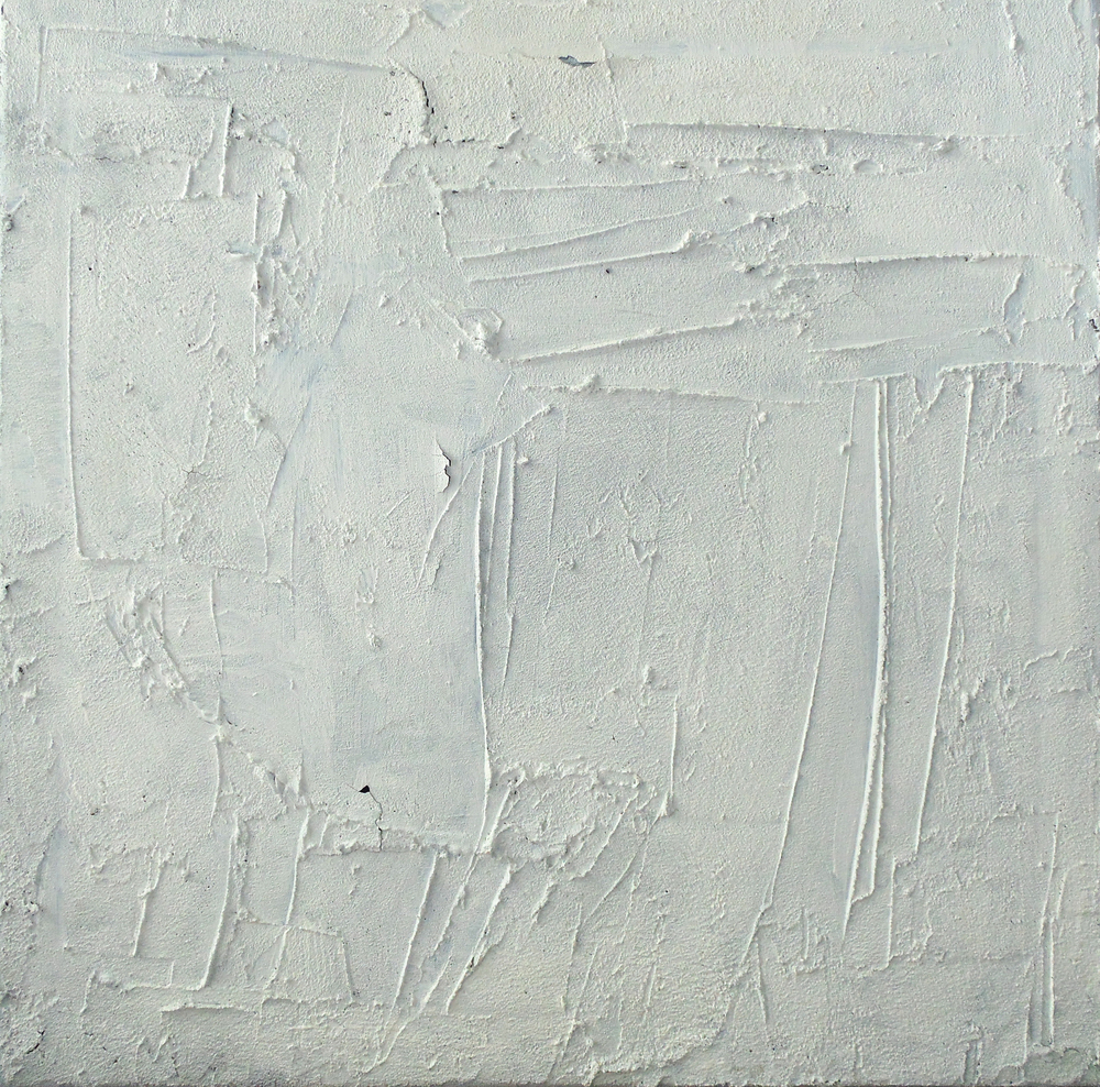 untitled (white concrete painting)