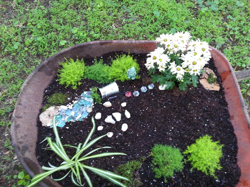 a simpler garden