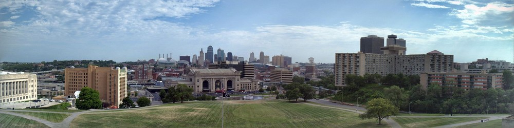 Kansas City, MO as seen from the Liberty Memorial
